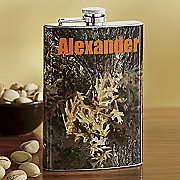 Personalized Camo Flask