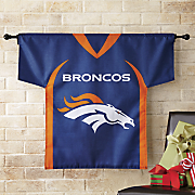 nfl 2 sided jersey flag