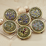 set of 6 compact mirrors