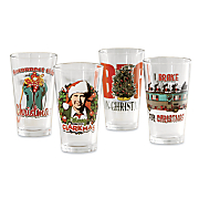 national lampoon s christmas vacation pint glass set