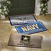military floor mat