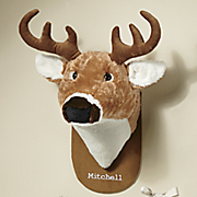 personalized plush trophy head