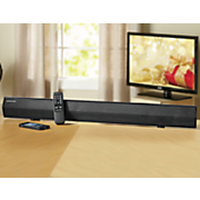 37  hd sound bar sound system with bluetooth by sharper image
