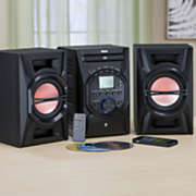 CD System with Multicolor LED Speaker Lights and Bluetooth by RCA