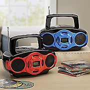 portable boombox by naxa