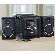 5-CD Changer Stereo with Integrated Line-In Cord by RCA