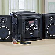 5 cd changer stereo with integrated line in cord by rca