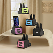 dok wireless speaker cradle with universal dual charger