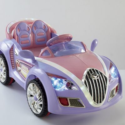 Pink Ride-On Roadster