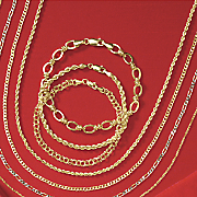 10K Yellow Gold Curb Necklace