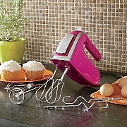 6 speed hand mixer with snap on case by hamilton beach