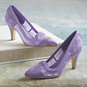 sherri lace pump