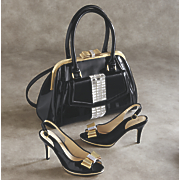 dyna bag and slingback pump