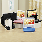 7  swivel screen portable dvd player by sylvania