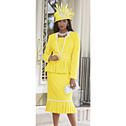 Solare Skirt Suit and Elizabeth Hat