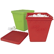 Set of 2 Microwavable Popcorn Buckets