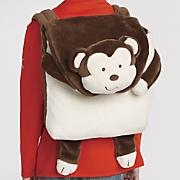 personalized backpack blanket set