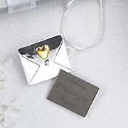 Personalized Love Letter Necklace