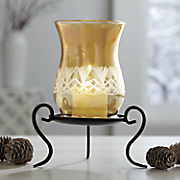 Artisan Glass Candelholder