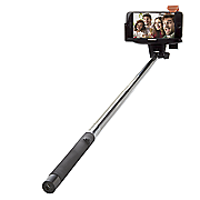 supersonic selfie stick with bluetooth shutter button