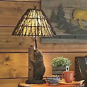 Standing Bear Lamp
