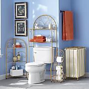 gold scroll bath furniture