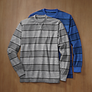2 pack men s striped thermal shirt 65