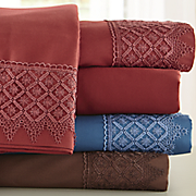 lattice microfiber sheet set