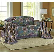 Lush Blooms Furniture Throw