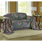 Lush Blooms Furniture Throw