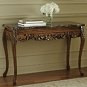 Hand-Carved Console Table