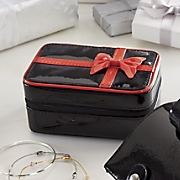 Red Bow Jewelry Case