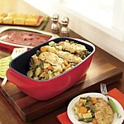 6 2 qt  edmond roaster with lid by crock pot