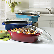 6 2 qt  edmond roaster with lid by crock pot