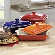 doveware 3 qt  casserole dish by aroma