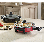 12  electric skillet by dash