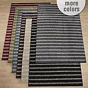 vega stripe shag rug