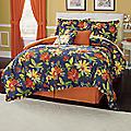 Midnight Floral 7-Piece Bed Set