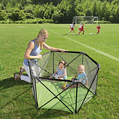 pop  n play portable playard