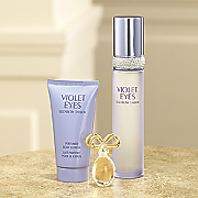 violet eyes 2 pc  set plus white diamonds mini by elizabeth taylor