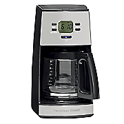 Black Ice Metal Collection 12-Cup Coffeemaker by Hamilton Beach