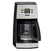 black ice metal collection 12 cup coffeemaker by hamilton beach