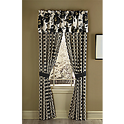 glam floral window treatments