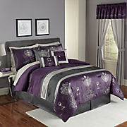 Riley 7-Piece Bed Set and Window Treatments