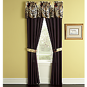 leopard window treatments