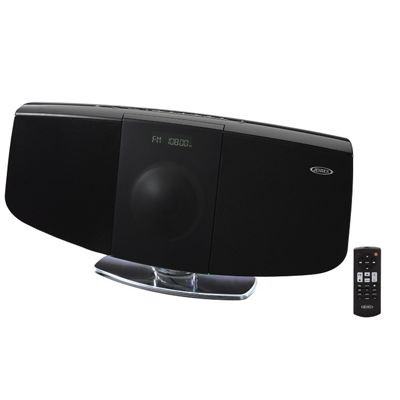 Wall-Mountable Digital CD System with Bluetooth by Jensen