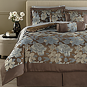 elisa jacquard 7 pc  bed set