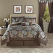 Elisa Jacquard 7-Piece Bed Set and Window Treatments