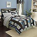 Manhattan Plaid Complete Bed Set