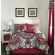 Sarina 7-Piece Bed Set and Window Treatments